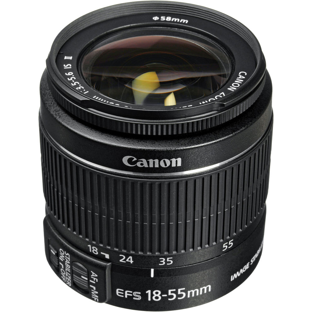 USED Canon 18-55mm f3.5-5.6 IS II EF-S Lens