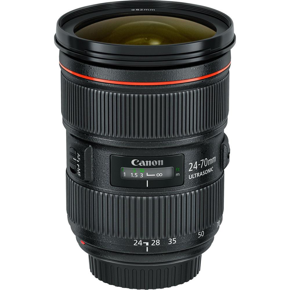 Canon 24-70mm 2.8 L II EF USM Zoom Lens