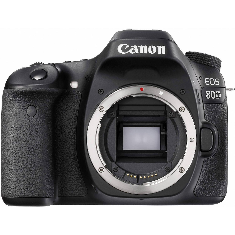 Canon EOS 80D DSLR Camera Body (Black)
