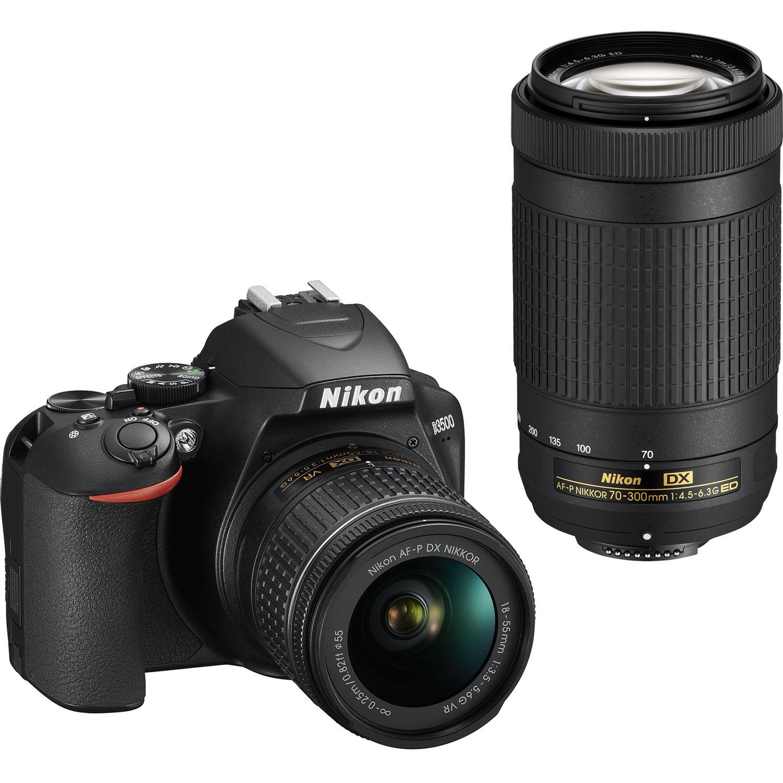 Nikon D3500 Double Zoom Lens Kit