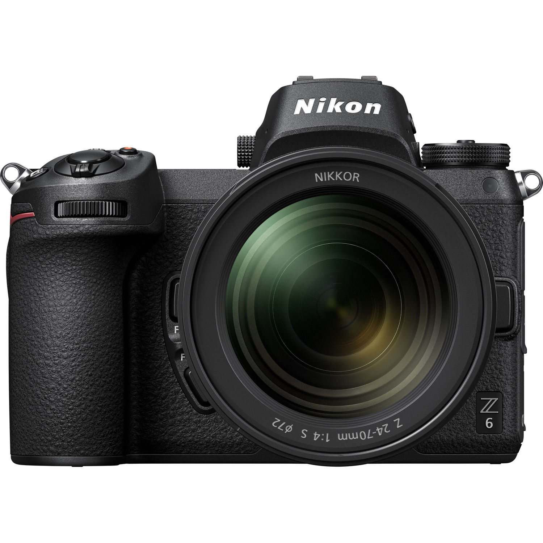 Nikon Z6 FX-format Mirrorless Camera  Body w/ NIKKOR Z 24-70mm F4 S Lens