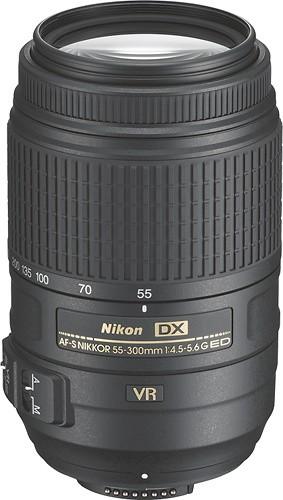 USED Nikon 55-300mm F4.5-5.6 G VR AF-S DX Lens
