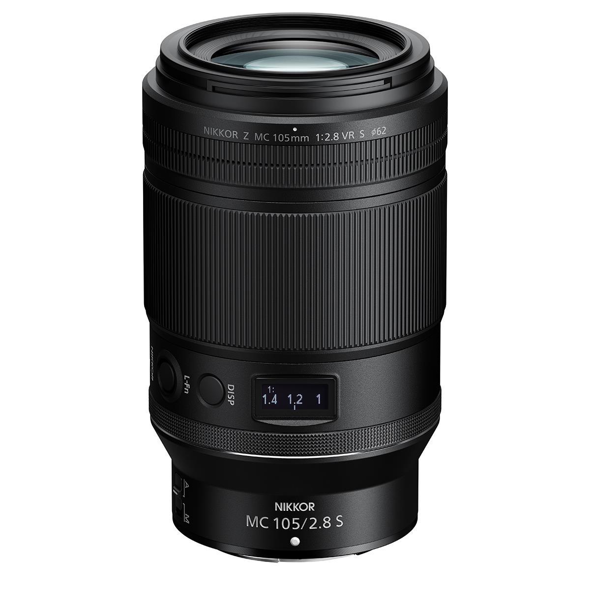 Nikon Z 105mm F2.8 MC VR S Lens