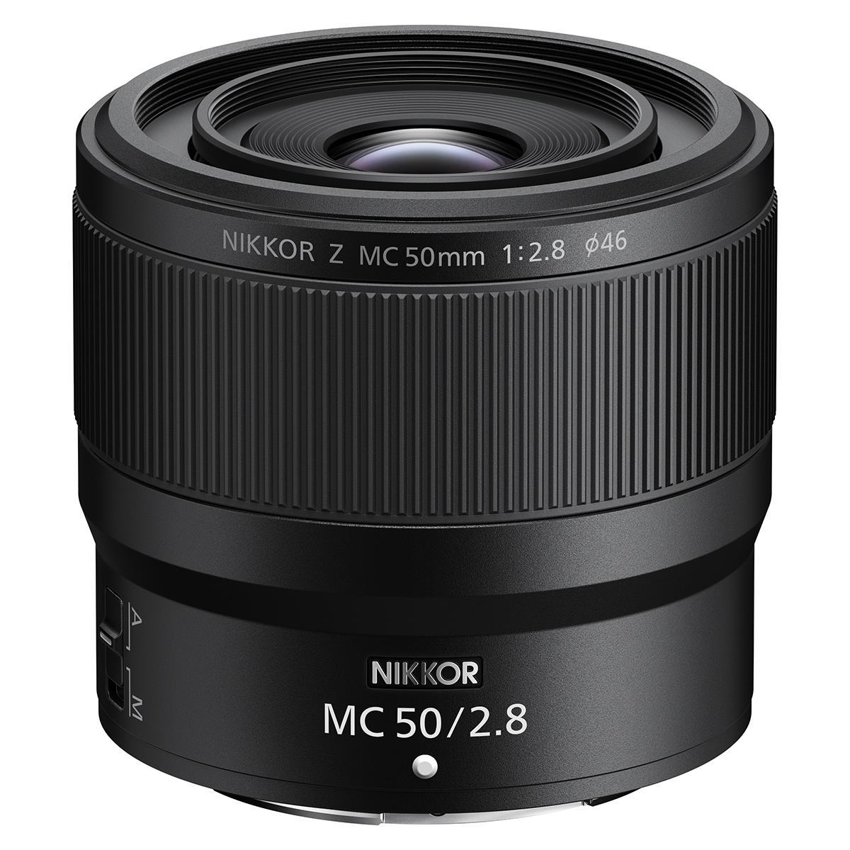 Nikon Z 50mm F2.8 MC Lens