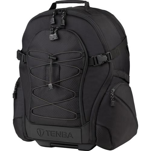 Tenba Shootout Rolling Backpack LE - Medium (Black) 632-345