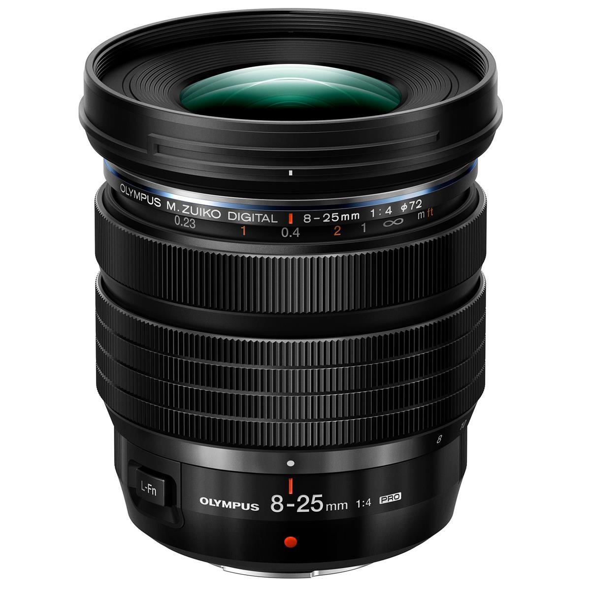 Olympus 8-25mm F4.0 PRO Lens