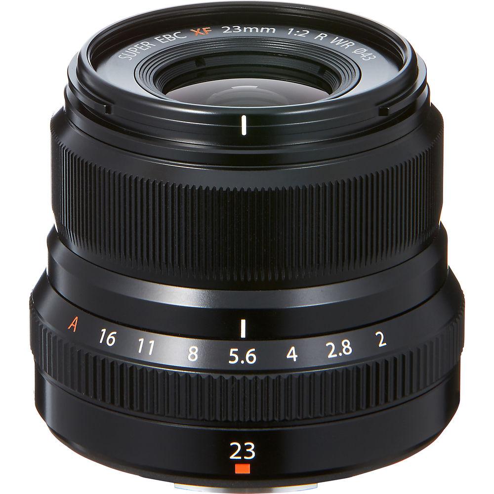 USED Fujinon XF 23MM F2 R WR Lens Black