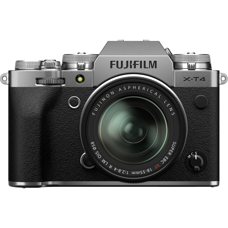 Used Fujifilm X-T4 Mirrorless Digital Camera  with 18-55mm Kit (Silver)