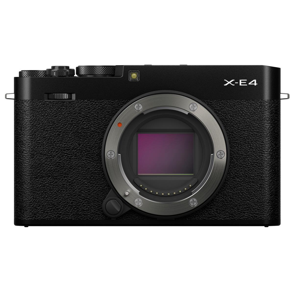 Fujifilm X-E4 Mirrorless Camera Body (Black)