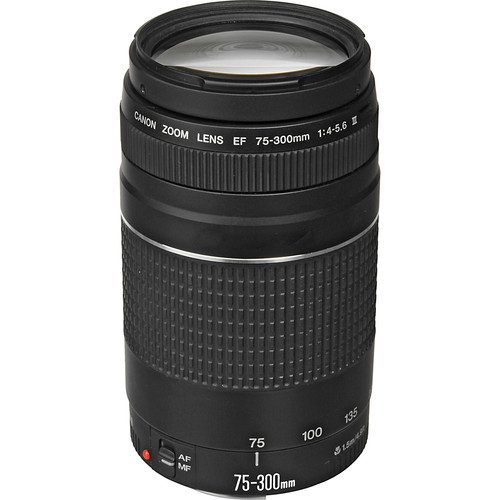 USED Canon 75-300mm F4-5.6 III EF Lens (Non-USM)
