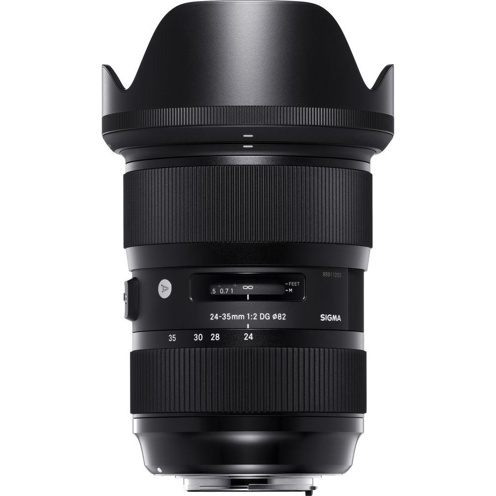 Open Box Sigma 24-35mm f/2 DG HSM Art Lens for Canon