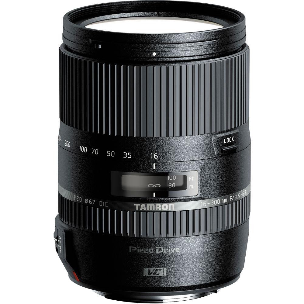 Tamron 16-300mm f/3.5-6.3 Di II VC PZD  MACRO Lens for Nikon w/ BIM