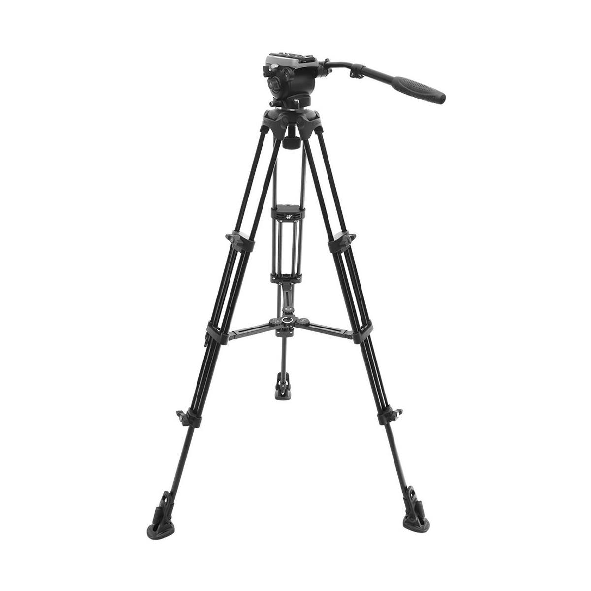 E-Image EK650 Professional Compact Tripod with Fluid Head (75mm)