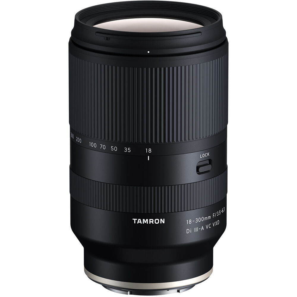 Tamron 18-300mm F3.5-6.3 Di III-A VC VXD Lens for Sony E Mount